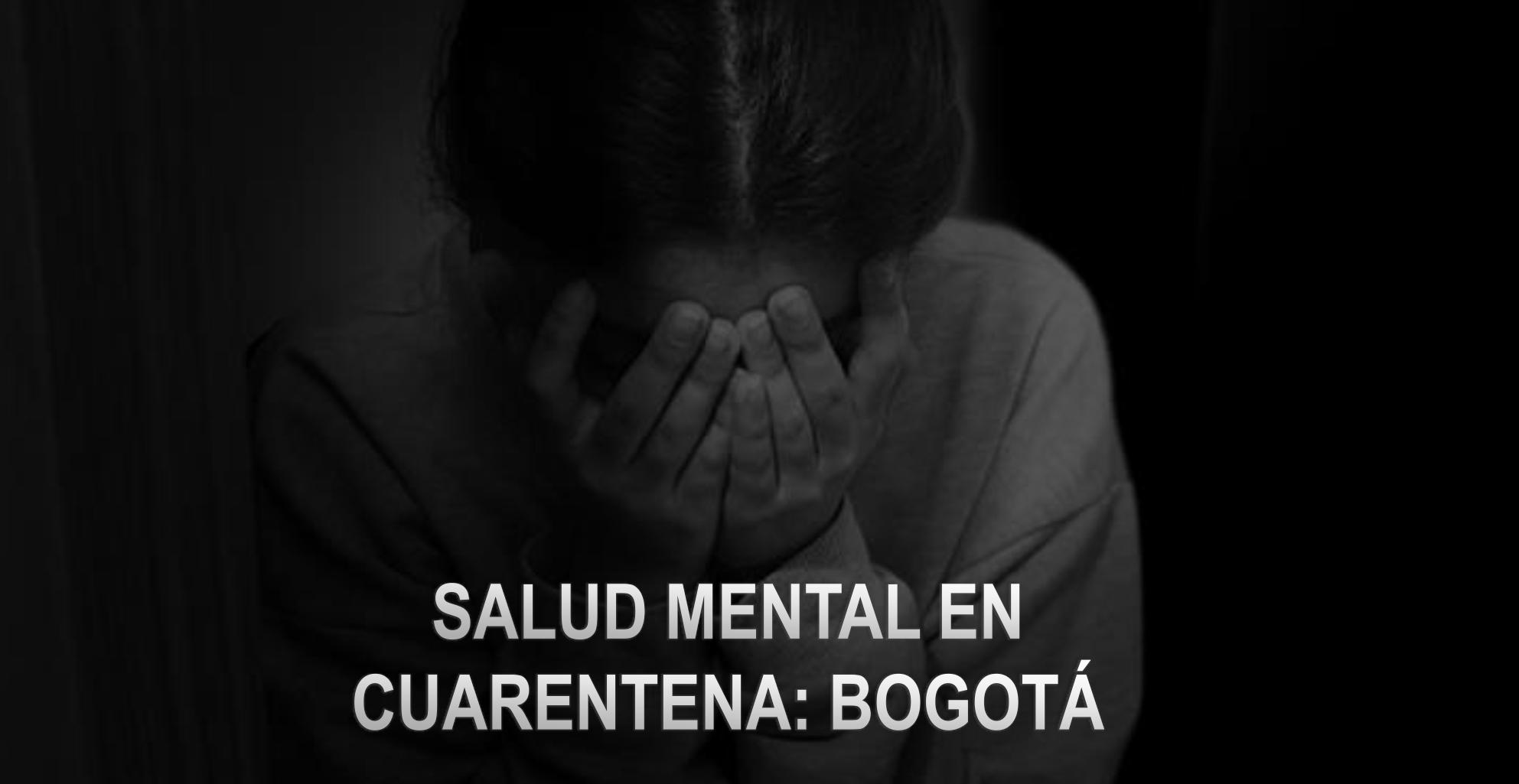 Salud mental en cuarentena: Bogotá 2020