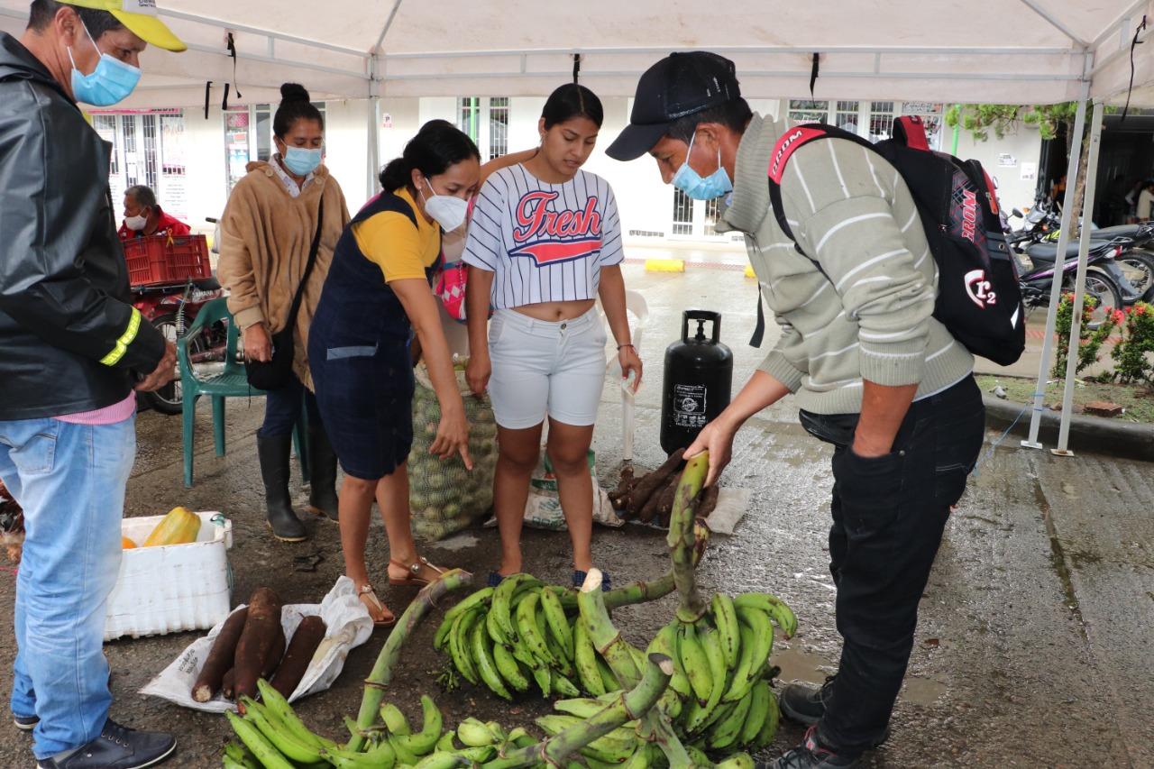 Los mercados campesinos: historias de sabores y colores en el Putumayo